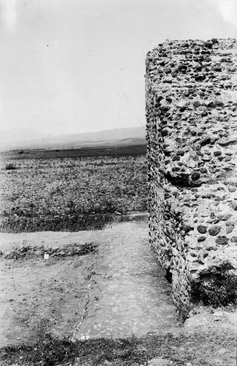 Detail of ramp showing displacement east side  · Archaeological Archives